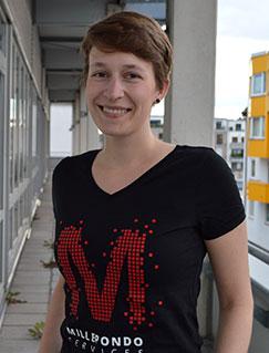 Isabelle Bank - Projektleiterin